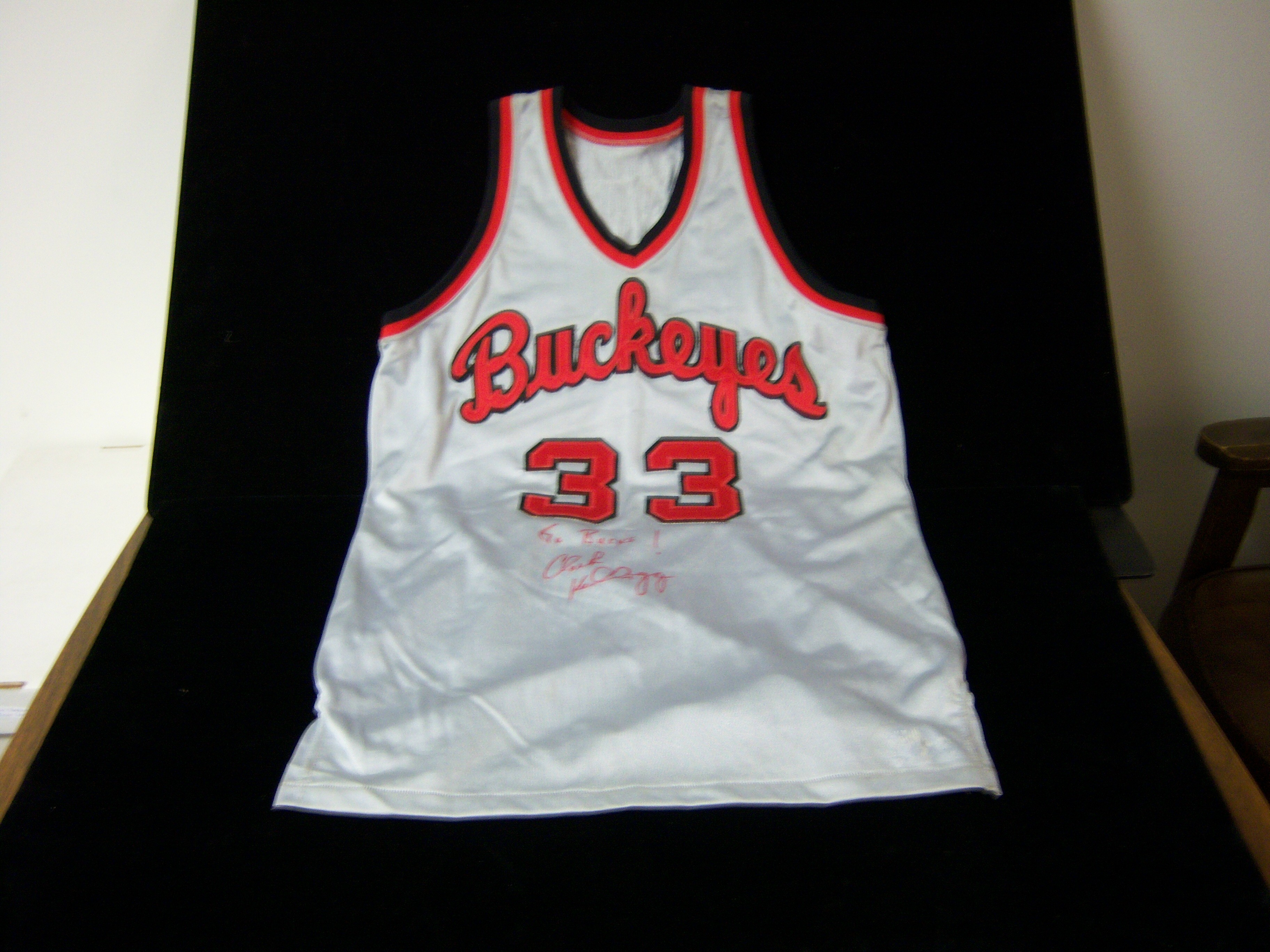 Lot Detail Replica 1980 s Ohio State Basketball Jersey