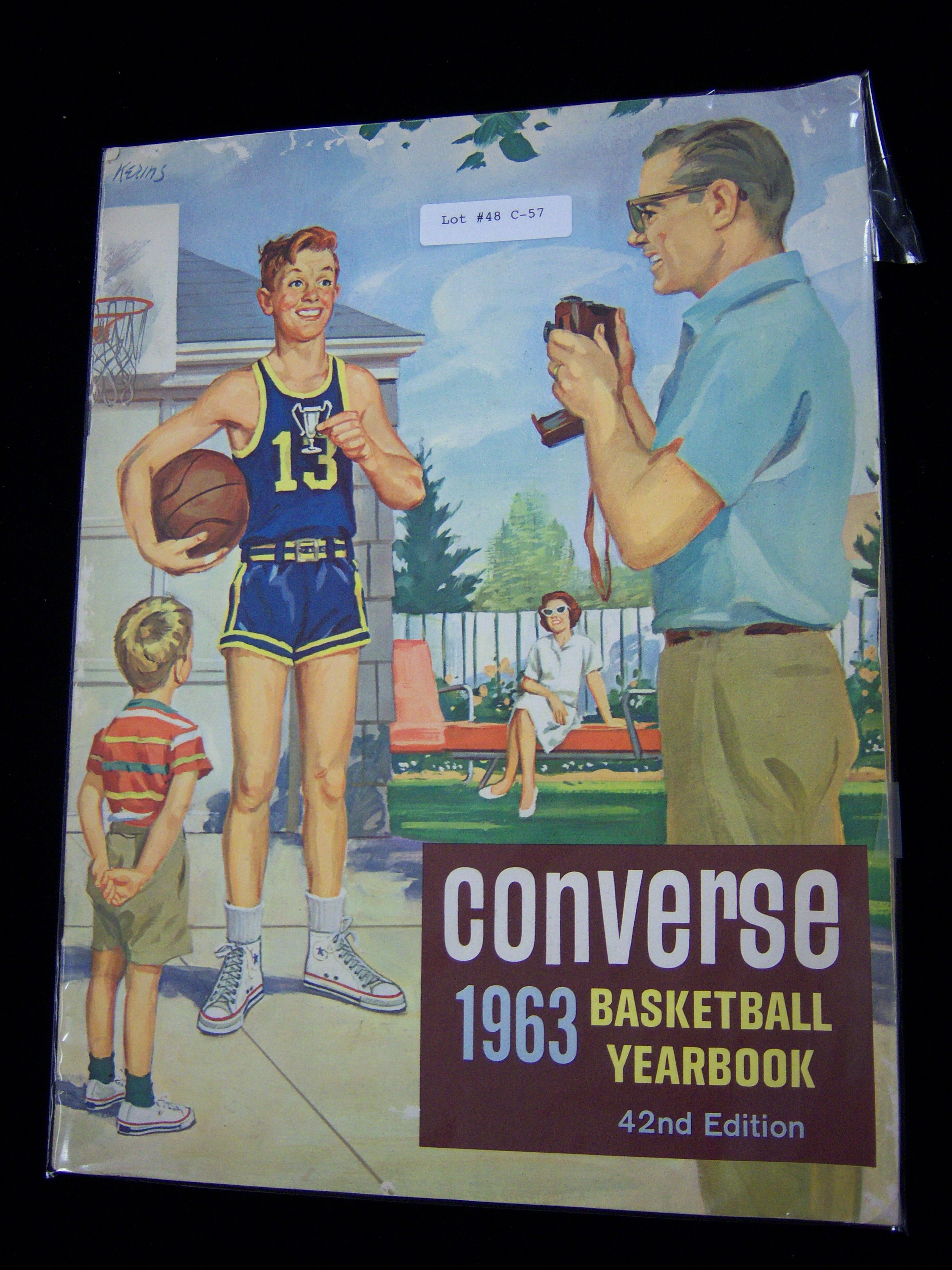 Lot Detail 1963 Converse Basketball Yearbook