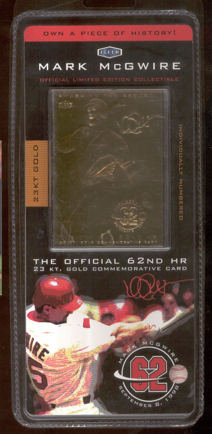 Lot Detail 1998 Mark Mcgwire Collectibles Cardinals