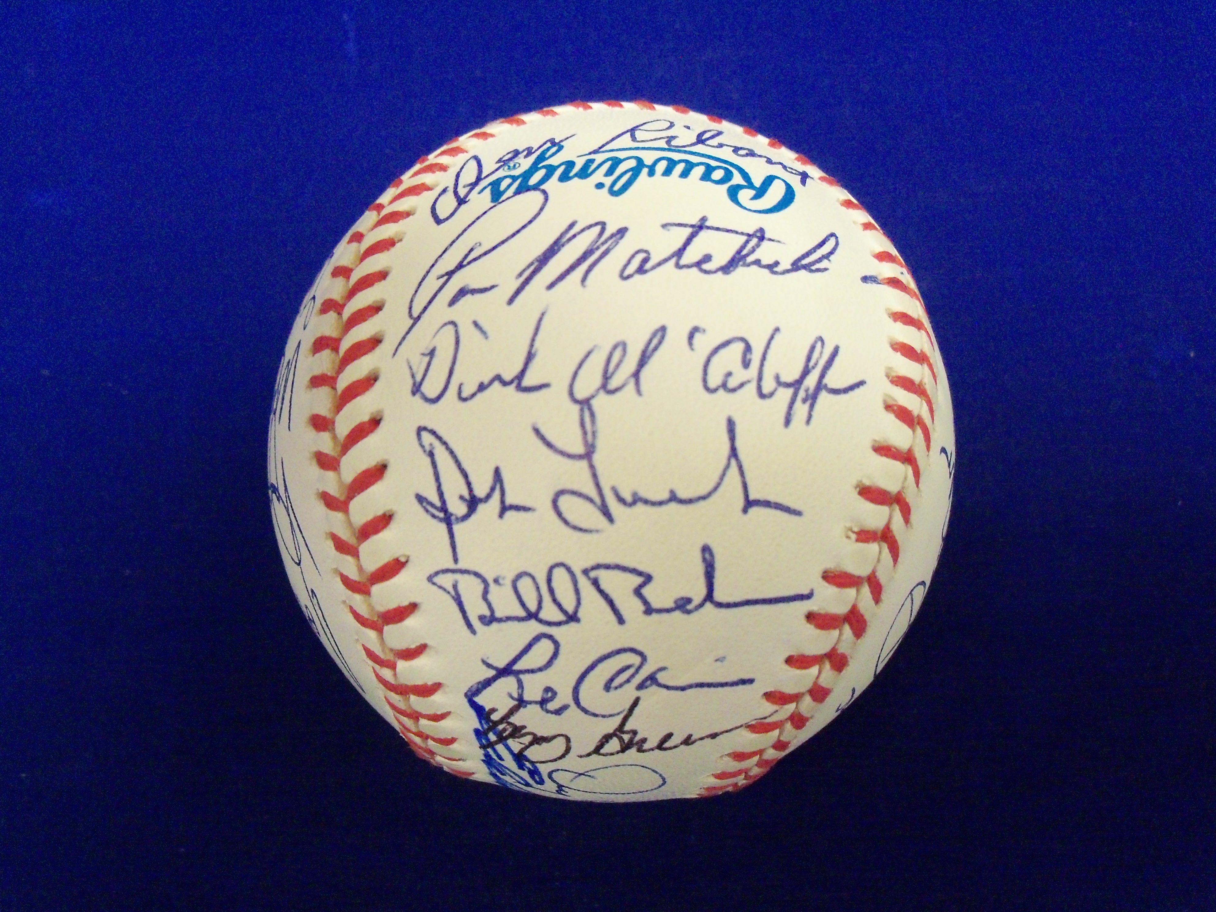 Lot Detail 1968 Detroit Tigers Autographed Baseball 29 Autographs