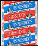 1956 Topps U.S. Presidents- 1 Cent Wrapper