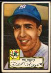 1952 Topps Baseball- #11 Phil Rizzuto, Yankees