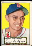 1952 Topps Baseball- #22 Dom DiMaggio, Red Sox