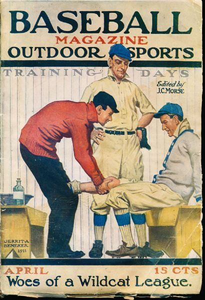 April 1911 Baseball Magazine- Vol. 6 Number 6