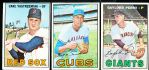 1967 Topps Bb- 3 Diff.