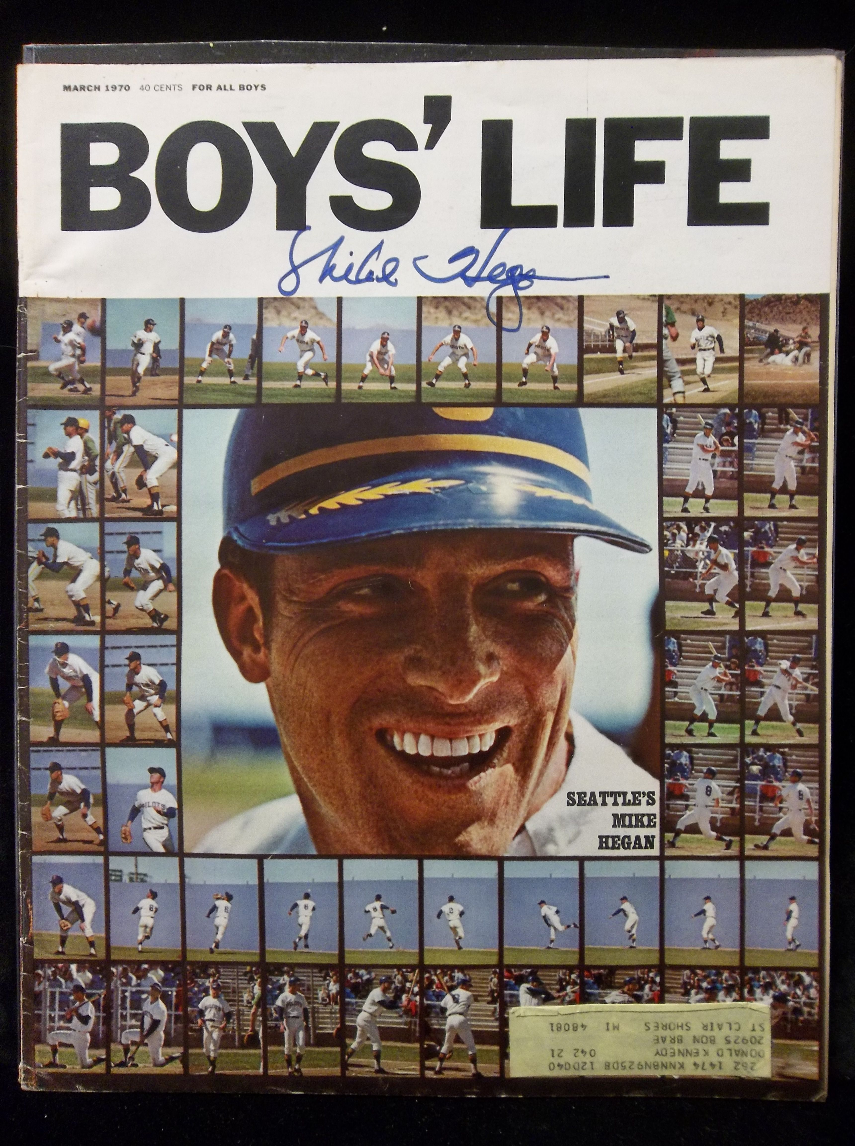 Boys' Life Magazine Lot of 25 from the 1980's