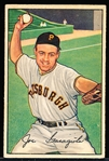 1952 Bowman Bb- #27 Joe Garagiola, Pirates