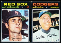 1971 Topps Bb- 26 Assorted Stars
