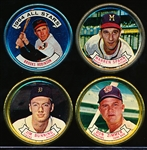 1964 Topps Bb Coins- 4 Diff.
