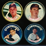 1964 Topps Bb Coins- 13 Diff.