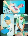 1970 Topps Bb Supers- 3 Diff.