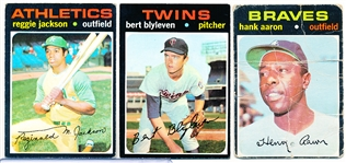 1971 Topps Bb- 3 Diff.
