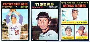 1971 Topps Bb- 30 Cards
