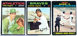 1971 Topps Bb- 50 Cards