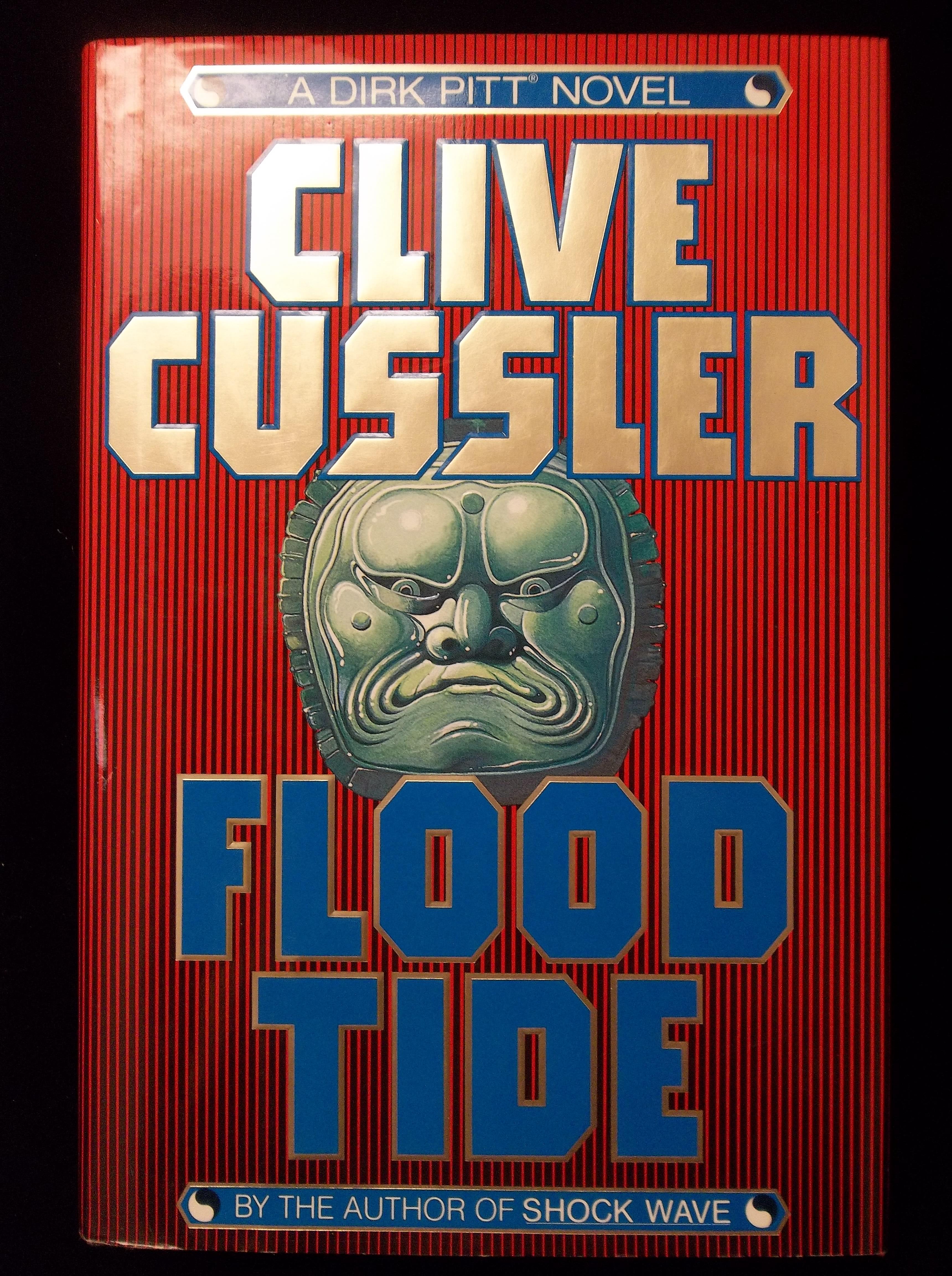 Lot of 5, Clive Cussler: Atlantis Found, Treasure, Shock Wave, Dragon, Spartan