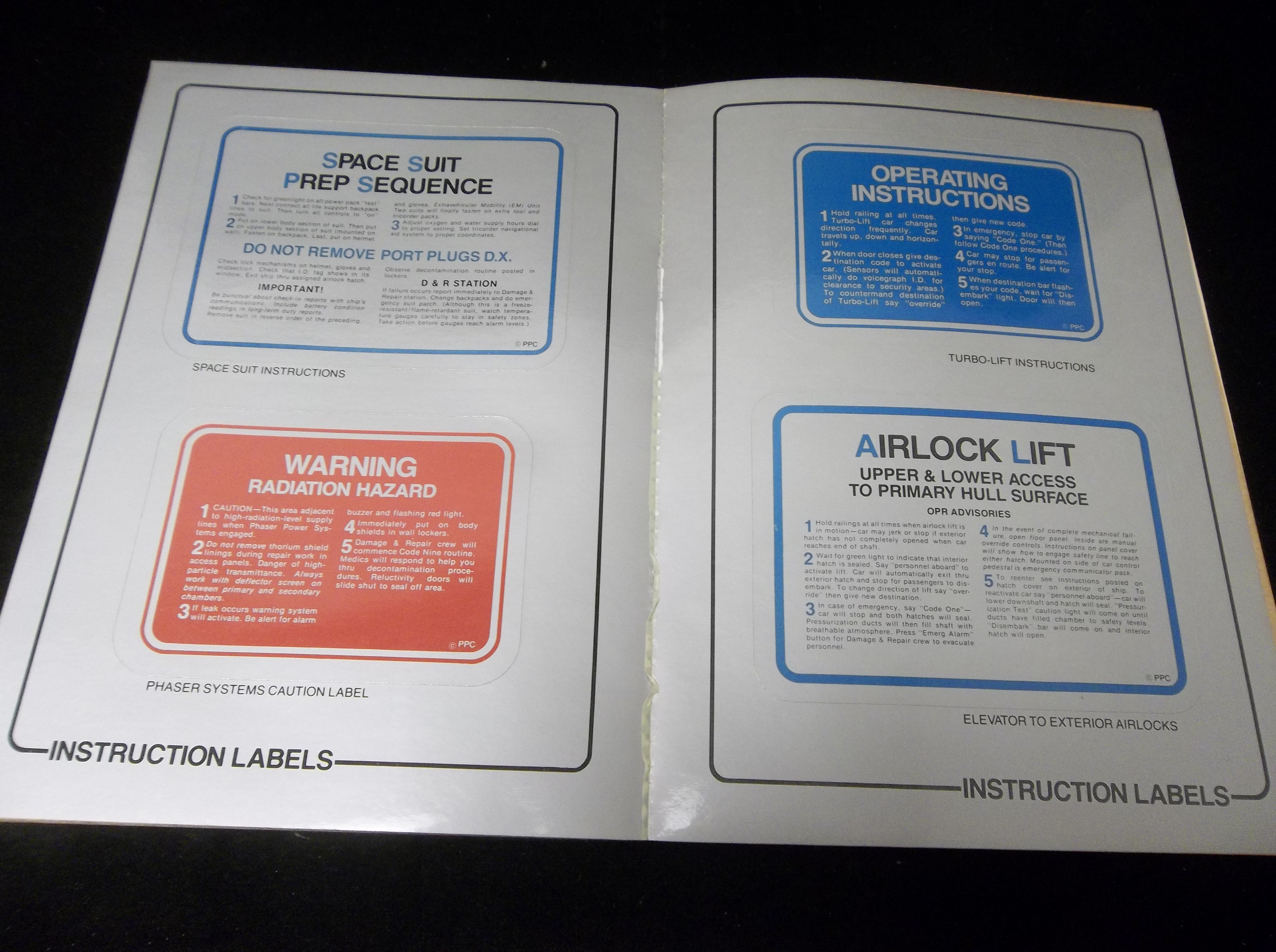 "Lot Detail - 1979 Wallaby ""Star Trek The Motion Picture Peel-Off"