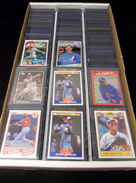 700 Assorted Baseball Star Cards