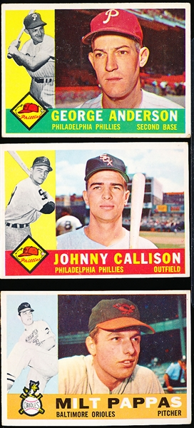 1960 Topps Bb- 19 Diff