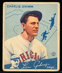 1934 Goudey Bb- #3 Charlie Grimm, Cubs