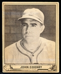 1940 Playball Bb- #60 Cooney, Boston Bees