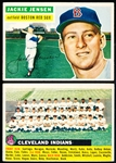 1956 Topps Bb- 2 Cards