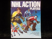 "1974-75 NHLPA ""NHL Action Players Album""- 1 Complete Album with Unattached Sheet of 20 Diff. Player Stamps"