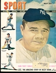 May 1948 Sport Magazine Bsbl.- Babe Ruth Cover