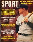 October 1963 Sport Magazine Bsbl.- Mickey Mantle Cover