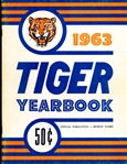 1963 Detroit Tigers Bsbl. Yearbook