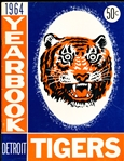 1964 Detroit Tigers Bsbl. Yearbook