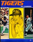 1971 Detroit Tigers Bsbl. Yearbook