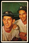 1953 Bowman Baseball Color- #93 Phil Rizzuto/ Billy Martin