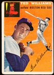 1954 Topps Bb- #1 Ted Williams, Red Sox