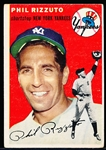1954 Topps Bb- #17 Phil Rizzuto, Yankees