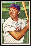 1952 Bowman Bb- #115 Larry Doby, Cleveland