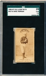 1886-87 N172 Old Judge Baseball- #457-6 Mike Tiernan, R.F. NY's- SGC 20 (Fair 1.5)- Bat on Shoulder Pose