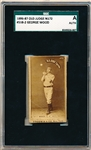 1886-87 N172 Old Judge Baseball- #508-2 George Wood, L.F. Phila- SGC A (Authentic)