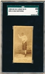 1889-90 N172 Old Judge Baseball- #491-3 Gus Weyhing, P. Athletics- SGC 40 (Vg 3)- Pitching pose