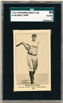 1916 Standard Biscuit Co.- #134 Wally Pipp, New York Americans- SGC 80 (EX/NM 6)