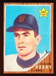 1962 Topps Bb- #199 Gaylord Perry Rookie!