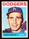 1964 Topps Bb- #200 Sandy Koufax, Dodgers