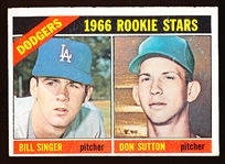1966 Topps Bb- #288 Don Sutton RC