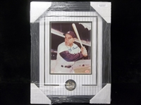 "Autographed & Framed Yogi Berra 8"" x 10"" Photo Matted and Framed to 14-½"" by 18-½"""