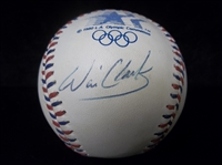 Autographed Will Clark Official 1984 Rawlings Olympic Bsbl- SGC Certified