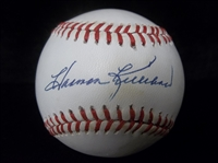 Autographed Harmon Killebrew Official AL Bsbl.- SGC Certified