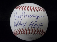 Autographed Joe Morgan (Red Sox Mgr.) Official Rawlings OLB1 Bsbl.- SGC Certified