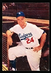 1960 Morrell Meats Dodgers- Walt Alston