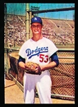 1960 Morrell Meats Dodgers- Don Drysdale