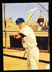 1960 Morrell Meats Dodgers- Carl Furillo
