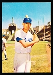 1960 Morrell Meats Dodgers- Wally Moon
